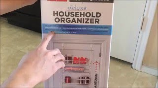 Unboxing and Review of Household Organizer for Kitchen Pantry Bath Closet Offices Supplies Storage