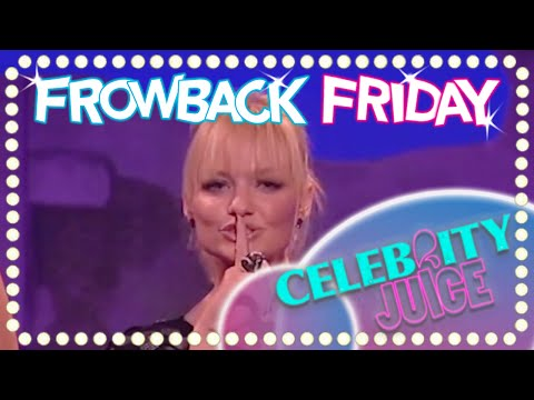 FROWBACK FRIDAY: It's The Spice Girls!   Celebrity Juice   Series Three
