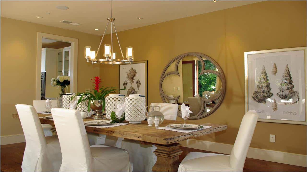 Dining Room Decorating Ideas On A Budget - YouTube