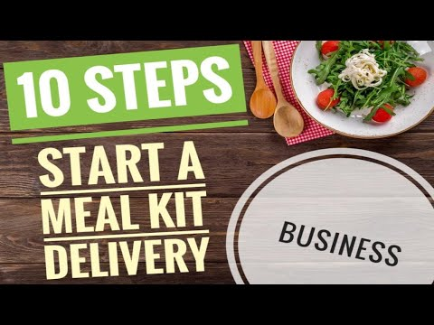 10 Steps to Start a Meal Prep Business | Starting a buisness during a recession | Meal Delivery