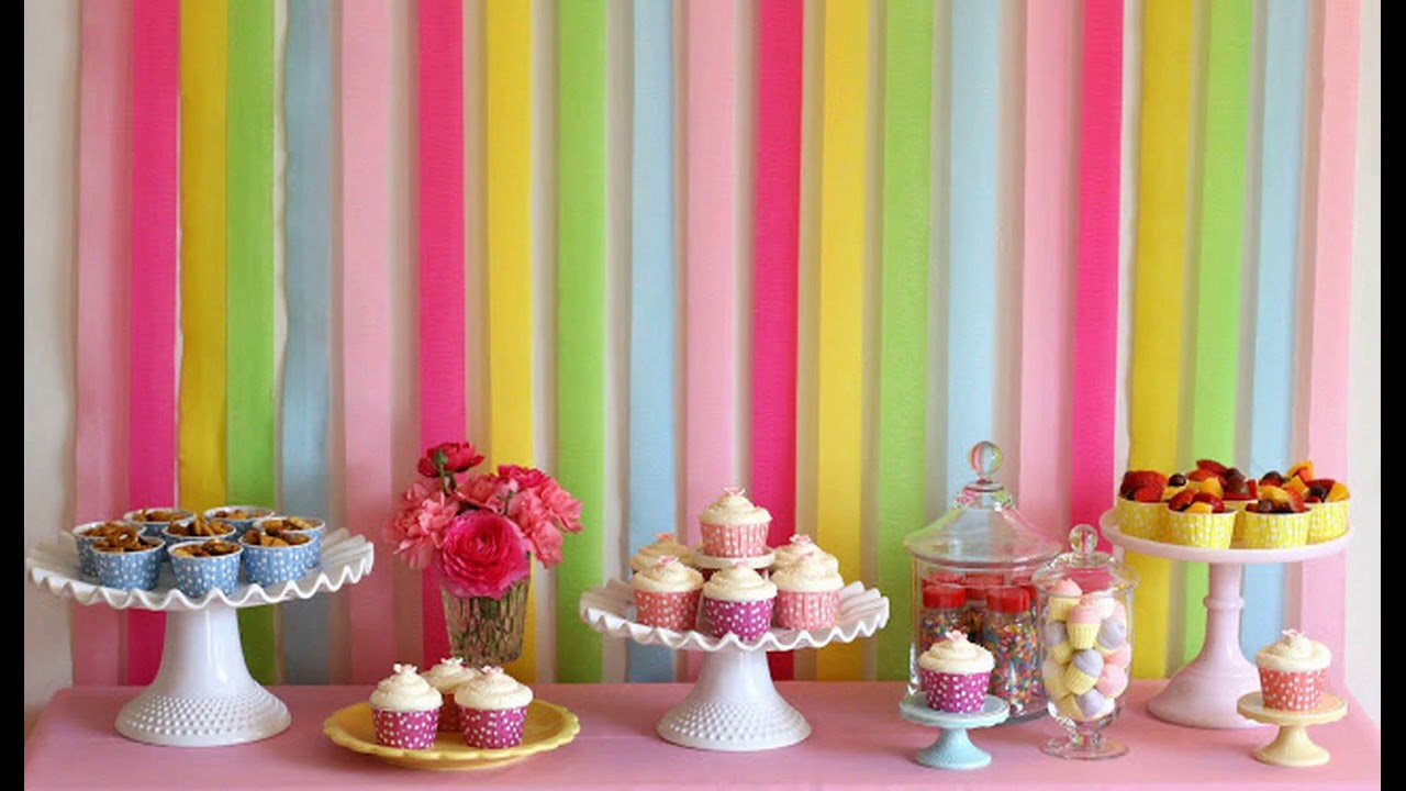 Easy DIY Party Decorations Ideas