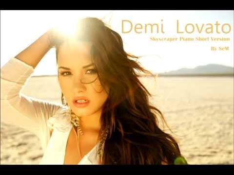 Demi Lovato - Skyscraper Piano Version (Short) FL Studio +FLP File Download