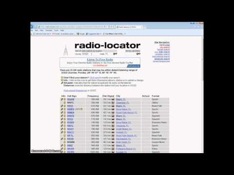 Test your prepper radio,make a DIY RDF,locate all stations and signal strength in your area