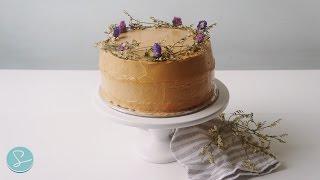 TOKYO BANANA CARAMEL CAKE (Rustic Cake) - Sumopocky