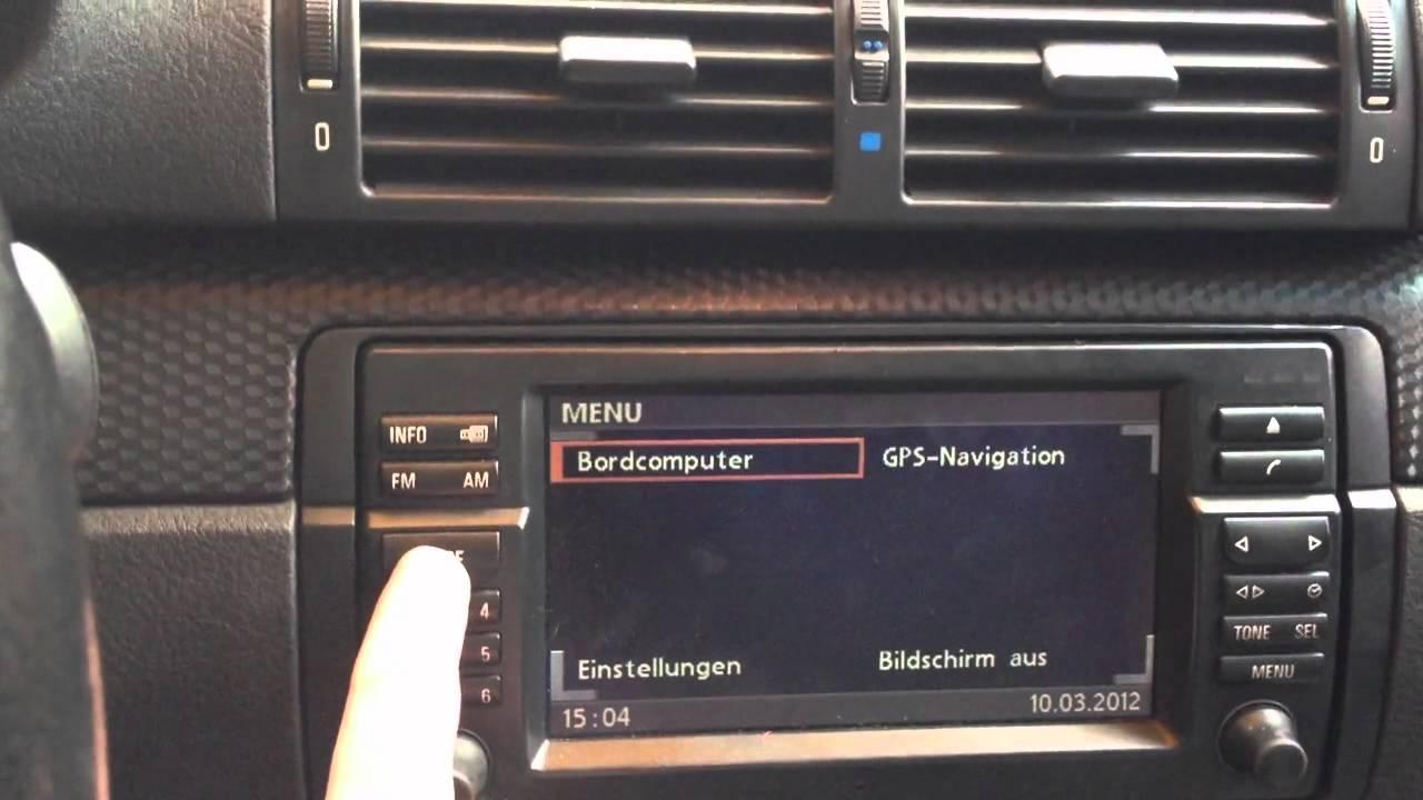 Bmw E46 And Factory Navigation Aux Www Spetsnaz Bg Youtube