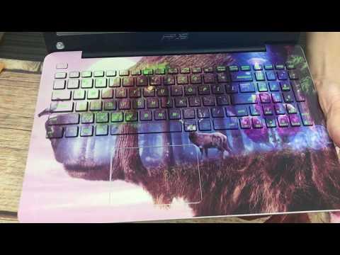 Dán Skin Full Lưng Và Phím Cho Laptop Asus X555U