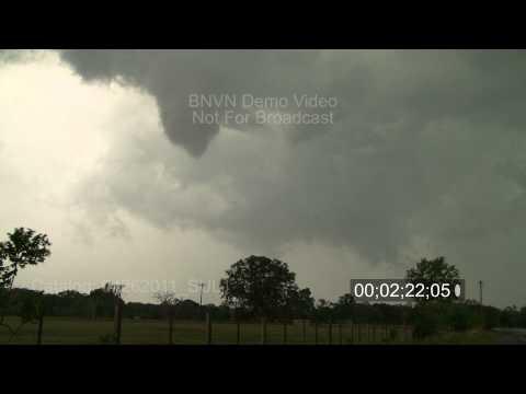 Eustace, TX Tornado Footage - 4/26/2011