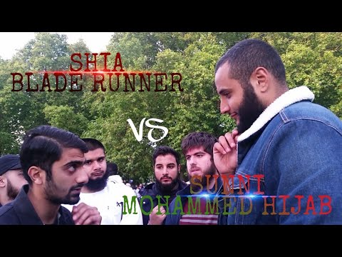 MOHAMMED HIJAB VS SHIA BLADE RUNNER | BLOODSHED AND HATE | SPEAKERS CORNER