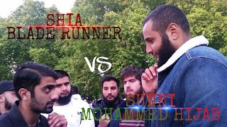 MOHAMMED HIJAB VS SHIA BLADE RUNNER   BLOODSHED AND HATE   SPEAKERS CORNER