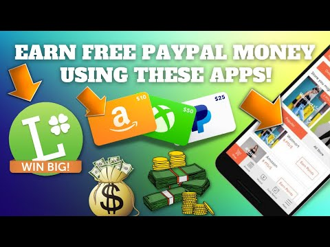 Earn Free PayPal Money Using 3 Apps   Available on IOS & Android (Make Money Online)