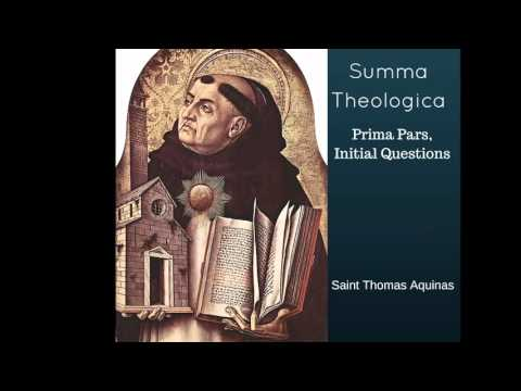 Summa Theologica, Prima Pars, Initial Questions - The Book of Life