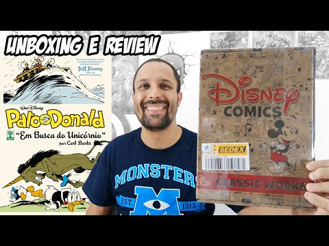 unboxing-gobox-disney-comics-classic-works-dez/16---pato-donald-em-busca-do-unicórnio-por-carl-barks