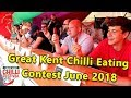 Chili Eating Contest at the Great Kent Chilli Festival 30th June 2018