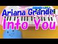 1本指ピアノ【Into You】Ariana Grande アリアナグランデ 簡単ドレミ楽譜 初心者向け