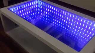 Infinity Mirror Table Self Made