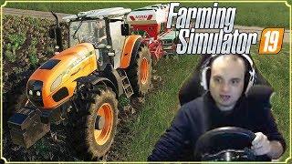 FARMING SIMULATOR 19 #56 - GIOCO CON IL VOLANTE! - GAMEPLAY ITA