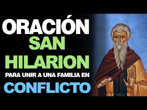 🙏 Poderosa Oración a San Hilarion PARA UNIR A UNA FAMILIA EN CONFLICTO 🙇