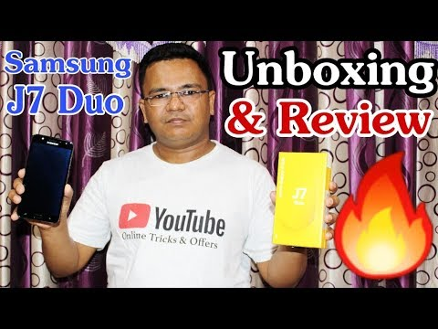 Samsung Galaxy J7 Duo 2018 Unboxing & Full Review !! HINDI ...