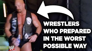 10 Wrestlers Who Prepared For Matches In The Worst Possible Way