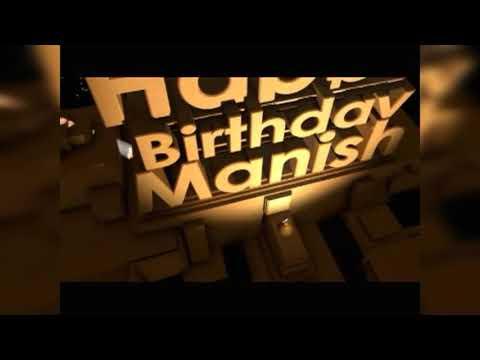 #happy birthday  Happy birthday Manish on Chhote_Tera_Birthday_Aaya song enjoy the video