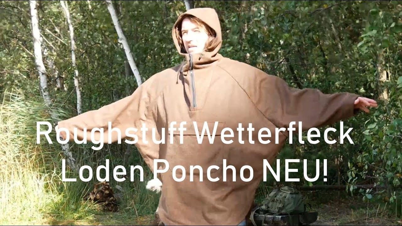 Download Roughstuff Wetterfleck Loden Poncho NEU!