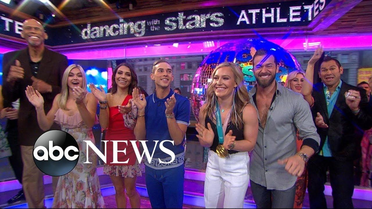 'Dancing with the Stars' cast includes Adam Rippon, Tonya Harding and more