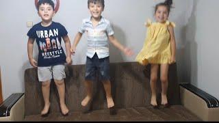 Yer Çekimi Başladı Bitti Oyunu Oynadık Çocuklar Çok Eğlendi