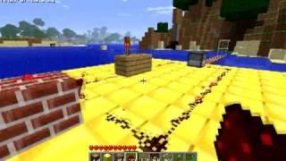 Minecraft - Gatling Gun/arrow cannon dispenser circuit by adnan252