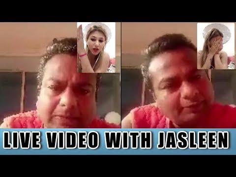 Live Video With Jasleen | Deepak Send Gifts To Jasleen From Kashmir