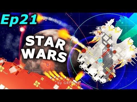 Star Wars Mod Bounty Hunter - The (little) Vindicator class Heavy Cruiser   Cosmoteer Gameplay Ep21