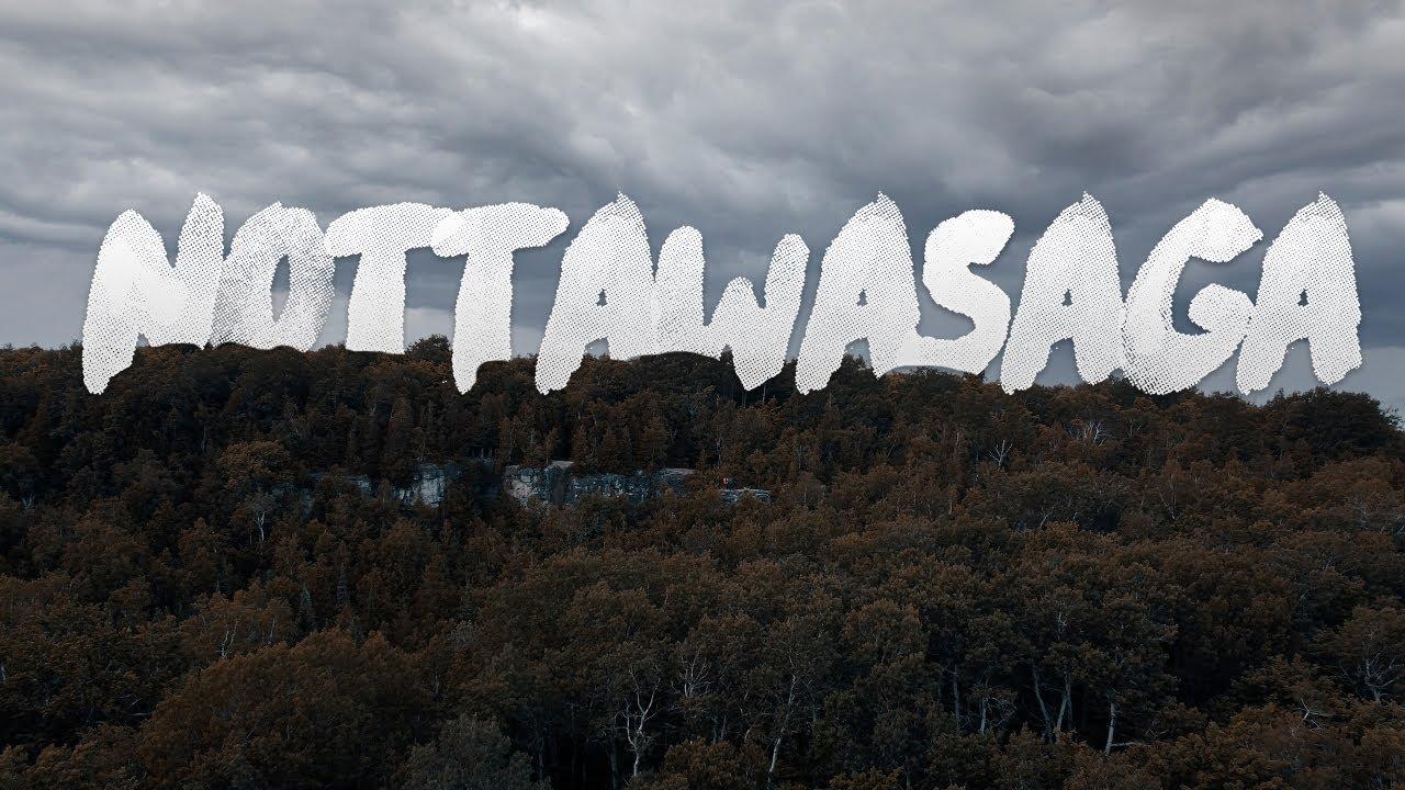 വീണ്ടും ഒരു കാട് കയറ്റം 😋😋  || NOTTAWASAGA | A HIDDEN GEM IN ONTARIO || CINEMATIC VLOG || CANADA