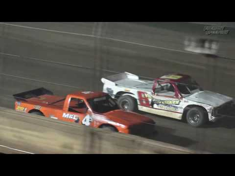 Fremont Speedway Dirt Truck Feature - 8/5/2017