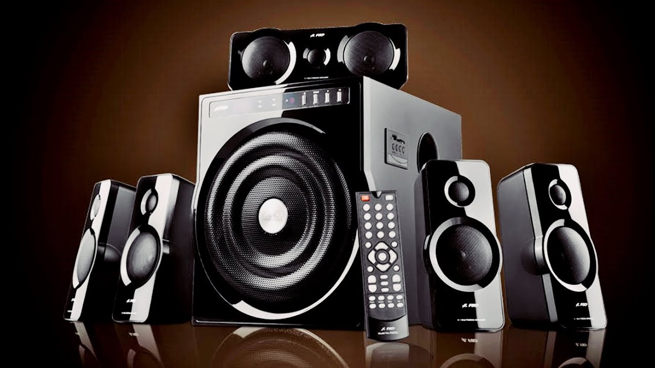 F D F6000 5 1 Home Theater Speakers Bass Test Review Youtube