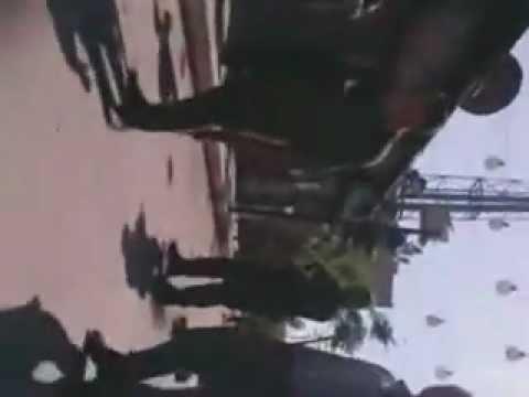دمشق جوبر اقتحام الحي و تكسير المحال 22 04 2012