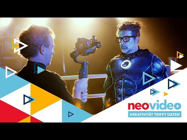 Hinter den Kulissen des Kongressfilmes - neovideo 2020