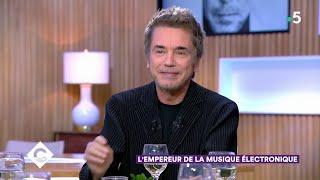 Jean-Michel Jarre, l'empereur de la musique électronique - C à Vous - 01/10/2019