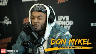 Harlem's DON MYKEL Paints PICTURES With WORDS!  | #HighOffLife Freestyle 022