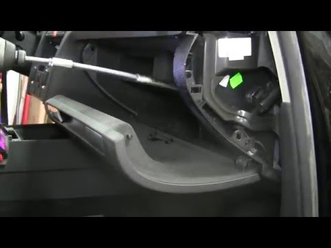 How To Remove Your Glove Box Audi A3 2005 2008 Youtube