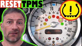 How to reset Tire Pressure Light on Mini R50 R53 - Mini TPMS Reset