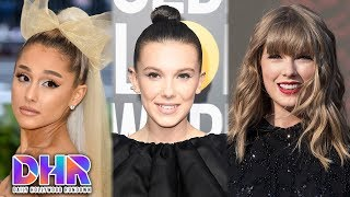 Ariana Grande CALLS OUT Millie Bobby Brown - DJ Tells Taylor Swift To SHOWER! (DHR)