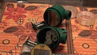 Ремонт электронного таймера полива GA-322