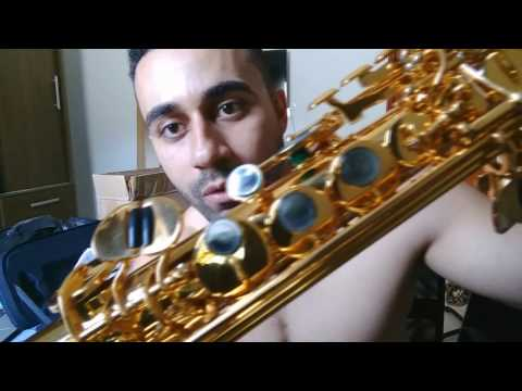 Saxofone Soprano Do Aliexpress - UNBOXING