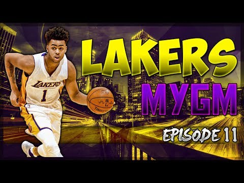 Free Agency Questions! We NEED Cap Space! - NBA2K17 MyLeague Los Angeles Lakers EP. #11