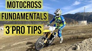 Motocross Fundamentals| Dirt Bike Riding Tip