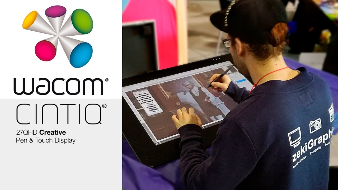 Wacom Cintiq 27 HD Touch REVIEW