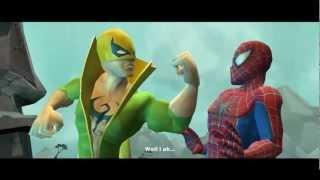 Spider-Man: Friend Or Foe - Chapter 2 - Tangaroa Island (Cutscenes)