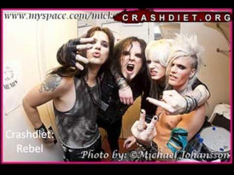 Crashdiet: Rebel[LYRICS]