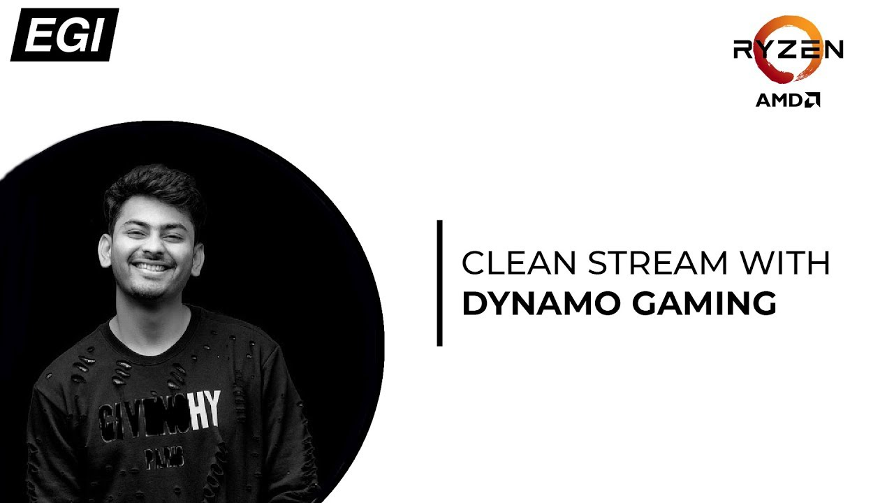 CLEAN STREAM WITH DYNAMO GAMING | EGI (PUBG MOBILE)