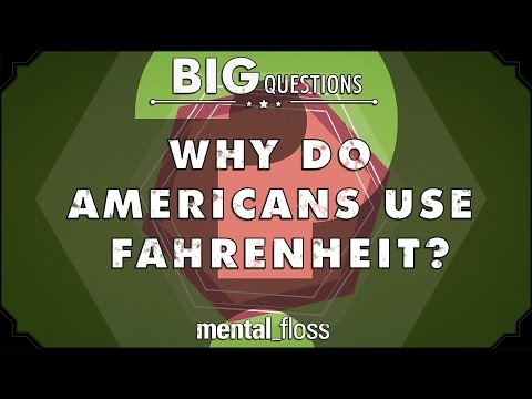 Why do Americans use Fahrenheit?   Big Questions  Ep 37
