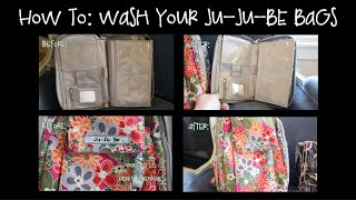 HOW TO: Wash your Ju-Ju-Be bags